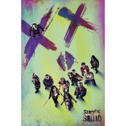 Maxi Poster SUICIDE SQUAD - Face