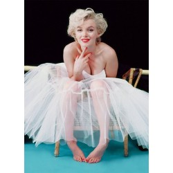 Carte Postale MARILYN MONROE - Ballerina Colour
