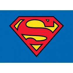 Carte Postale SUPERMAN - Logo