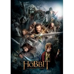 Carte Postale THE HOBBIT - Dark Montage