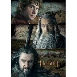 Carte Postale THE HOBBIT - Trio