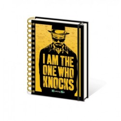 Notebook A5 BREAKING BAD - I'm The One Who Knocks