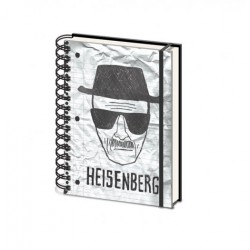 Notebook A5 BREAKING BAD - Heisenberg