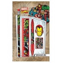 Set Papeterie MARVEL RETRO