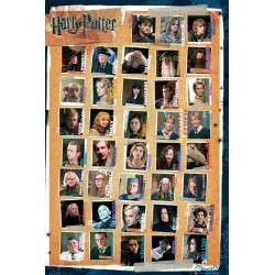 Maxi Poster HARRY POTTER 7 - Characters