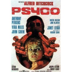 Affiche italienne PSYCHO