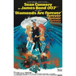 Maxi Poster JAMES BOND - Diamonds Are Forever