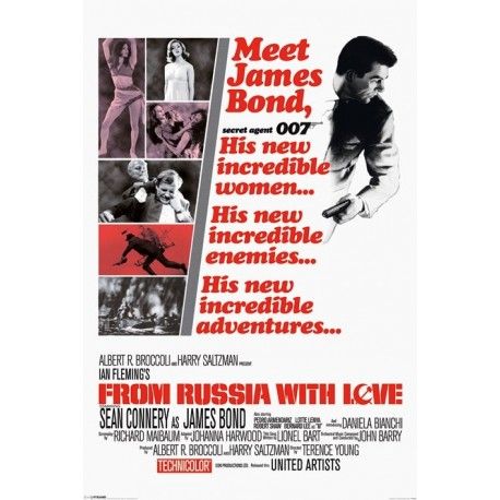 Maxi Poster JAMES BOND - From Russia With Love