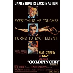 Maxi Poster JAMES BOND - Goldfinger