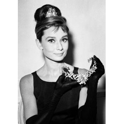 Carte Postale AUDREY HEPBURN - Diamonds