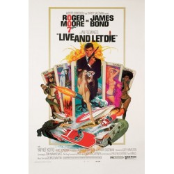 Maxi Poster JAMES BOND - Live And Let Die