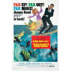 Maxi Poster JAMES BOND - On Her Majesty's Secret Service