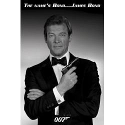 Maxi Poster JAMES BOND - Roger Moore