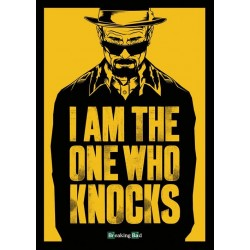 Carte Postale BREAKING BAD - I'm The One Who Knocks