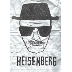 Carte Postale BREAKING BAD - Heisenberg