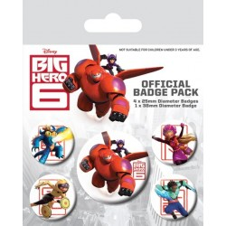 Badge Pack BIG HERO 6 - Characters
