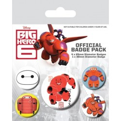 Badge Pack BIG HERO 6 - Baymax