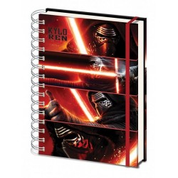 Notebook A4 STAR WARS VII - Kylo Ren