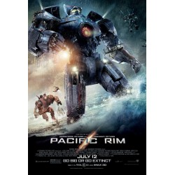 Maxi Poster PACIFIC RIM - Go Big Or Go Extinct