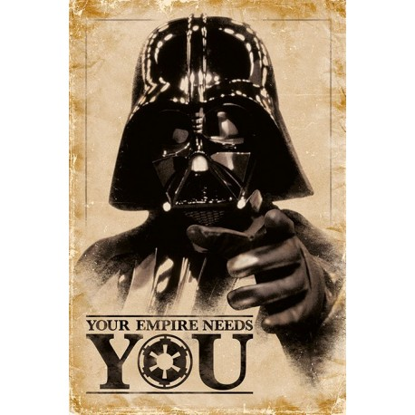 Maxi poster STAR WARS - Your Empire Needs You