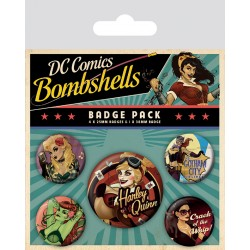 Badge Pack DC COMICS - Bombshells
