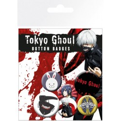 Badge Pack TOKYO GHOUL - Mix