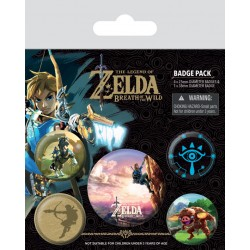 Badges Pack THE LEGEND OF ZELDA - The Climb