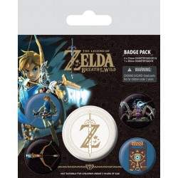 Badges Pack THE LEGEND OF ZELDA - Z Emblem