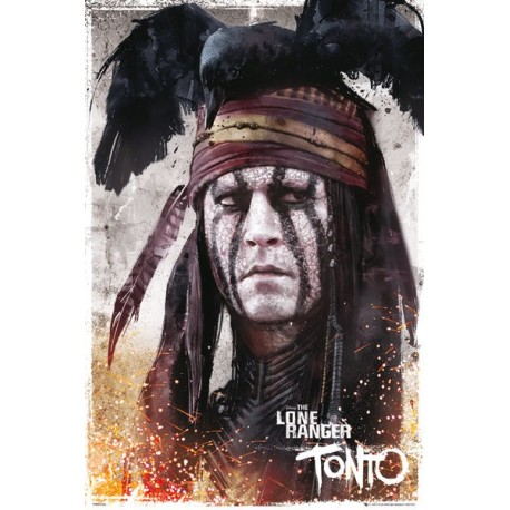 Maxi Poster THE LONE RANGERS - Tonto