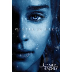 Maxi poster GAME OF THRONES - Winter is Here Daenerys