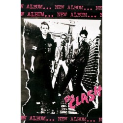 Maxi Poster THE CLASH - 1st Album