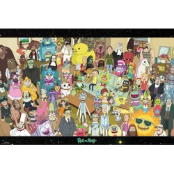 Maxi Poster RICK AND MORTY - Cast