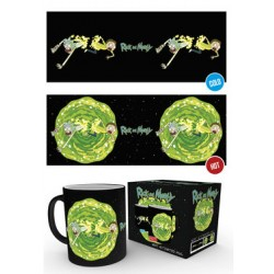 Mug Thermoréactif RICK ET MORTY - Portal