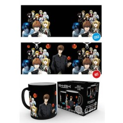 Mug Thermoréactif DEATH NOTE - Groupe