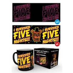Mug Thermoréactif FIVE NIGHT FREDDY'S - I Survived