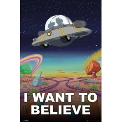 Maxi Poster RICK & MORTY - I Want To Believe
