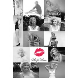 Maxi Poster MARYLIN MONROE - Montage