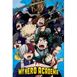 Maxi Poster MY HERO ACADEMIA - Cobalt Blast Group