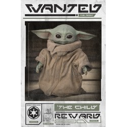 Maxi Poster STAR WARS - The Mandalorian - Wanted The Child
