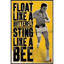 Maxi Poster MUHAMMAD ALI - Float Like a Butterfly