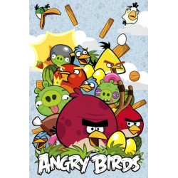 Maxi Poster ANGRY BIRDS - Collage