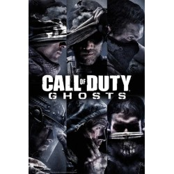 Maxi Poster CALL OF DUTY GHOSTS - Profiles