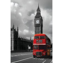Maxi Poster LONDON RED BUS