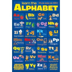 Maxi Poster LEARN THE ALPHABET