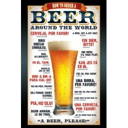 Maxi Poster BEER - How To Order