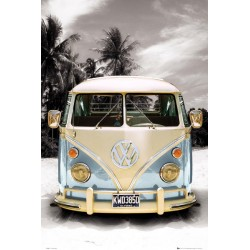 Maxi poster VW CALIFORNIAN CAMPER - Beach