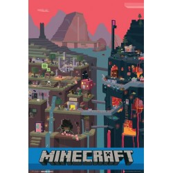 Poster Maxi MINECRAFT - World