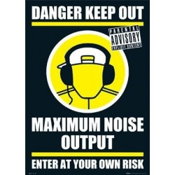 Maxi Poster - DANGER KEEP OUT